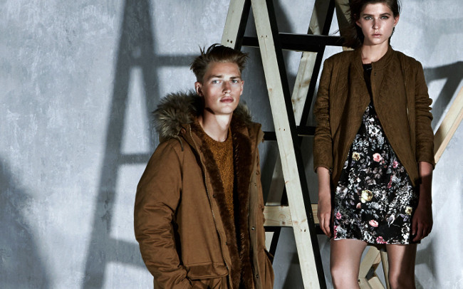 Pull&Bear look marron AW 2013