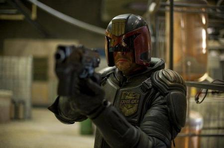 Imagen de Karl Urban como Dredd