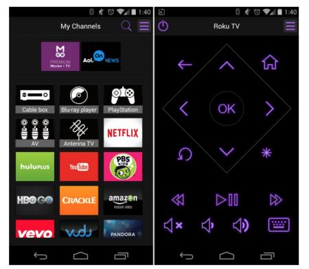 Roku iOs aplicación