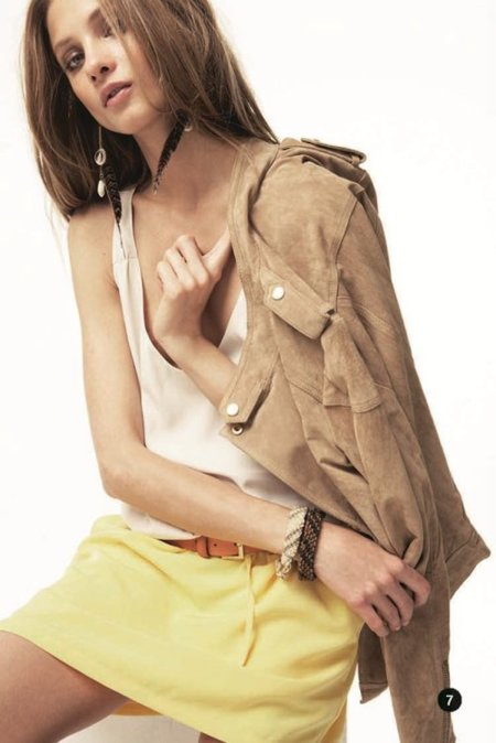 Amarillo Mango lookbook primavera 2012