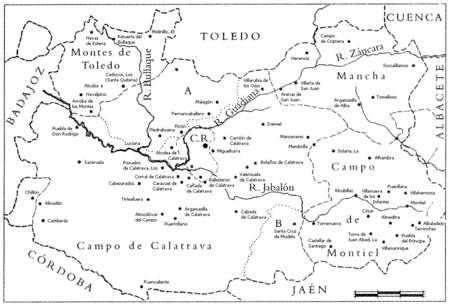 El Quijote Mapa