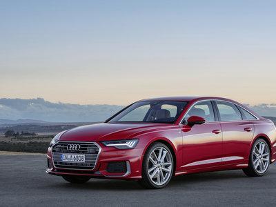 El nuevo Audi A6 viene cargado de tecnología: sólo opciones mild-hybrid y sin cambios manuales