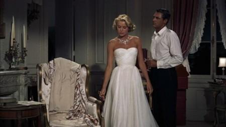 atrapa a un ladrón vestido blanco Grace Kelly