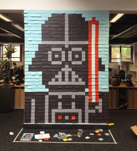 Star Wars Mural Sticky Notes Office Viking 2