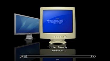 Así muestra Leopard los ordenadores con Windows conectados en red