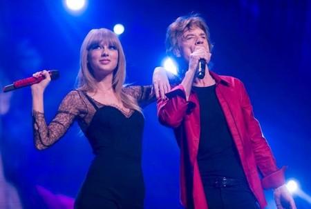 Explosión pop: Taylor Swift es la última en actuar con los Rolling Stones
