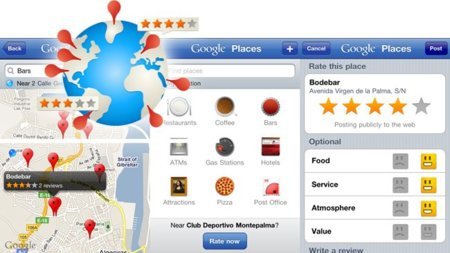 Google Places para iPhone, interesante pero insuficiente