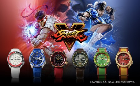 Seiko trae a México la edición limitada de relojes 5 Sports de 'Street Fighter V', este es su precio