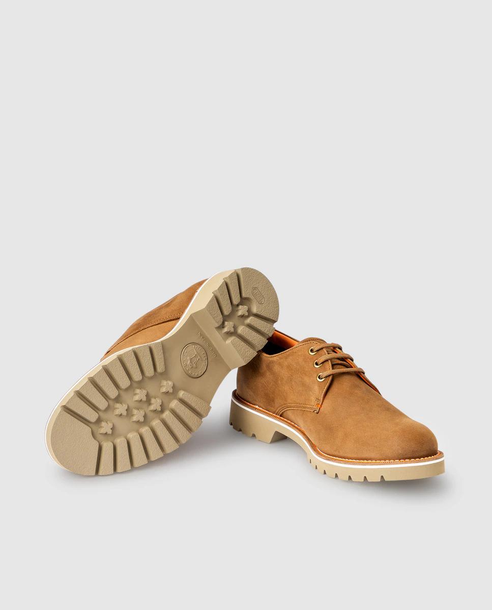 Zapatos de cordones de hombre Panama Jack de piel en color marrón