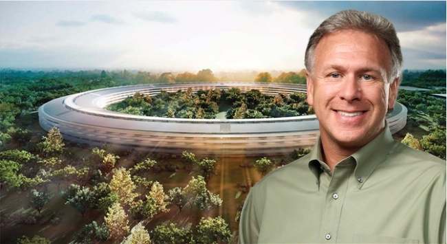 phil schiller apple cupertino campus 2