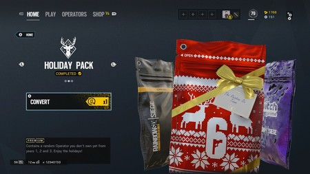 Rainbow Six Siege Holiday Pack