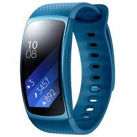 Pulsera cuantificadora Samsung Gear Fit 2, con GPS y pantalla Amoled, por 107 euros