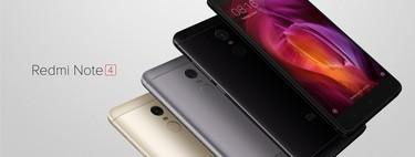 Xiaomi Redmi Note 4 de 64GB por 139,99 euros y envío gratis desde España