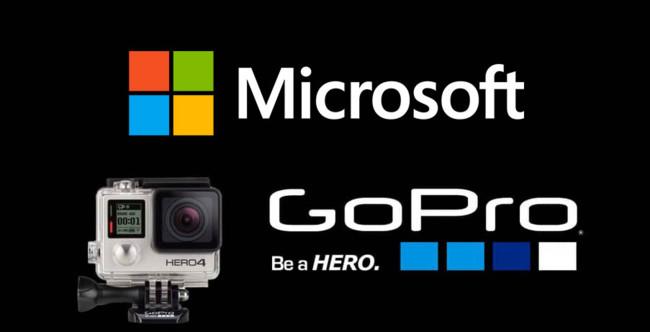 GoPro sorprende al mercado al firmar un acuerdo de patentes con Microsoft