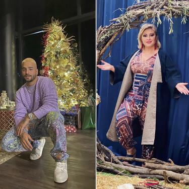 De Maluma baby hasta Raquel Mosquera y de los más cachondos a los nostálgicos: las mejores felicitaciones navideñas de los famosos