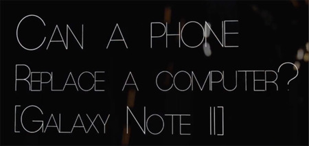 ¿Puede un teléfono móvil reemplazar a un ordenador?