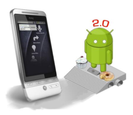 Android 2.0, primeras imágenes e informaciones