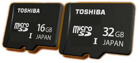 Toshiba blinda la seguridad de las microSD para smarphones y tablets
