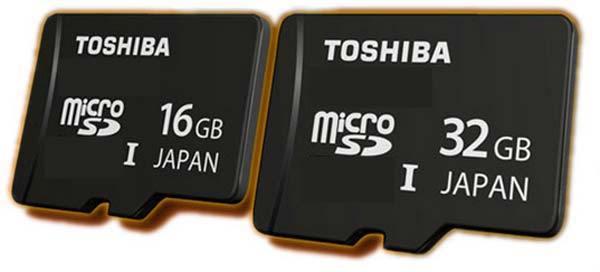 Tarjetas microSD Toshiba