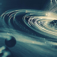 """Cuando apuntas a un átomo con el mayor laser de rayos X que tenemos, ocurre algo fascinante: un """"agujero negro"""" molecular"""
