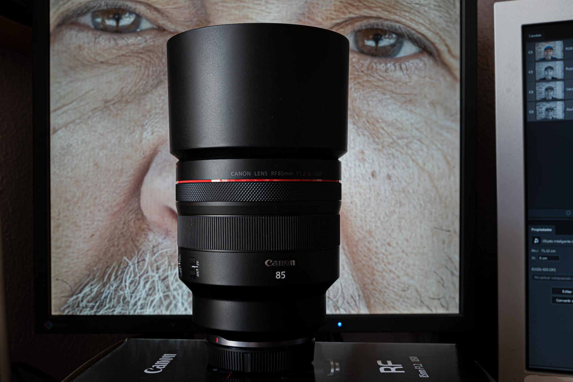 Foto de Canon RF 85mm F1.2L USM (1/15)