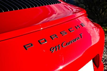 Porsche 911 Carrera T trasera