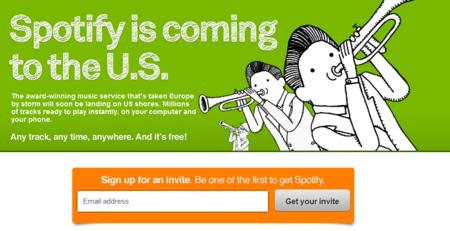 Ya es oficial: Spotify llega a EEUU