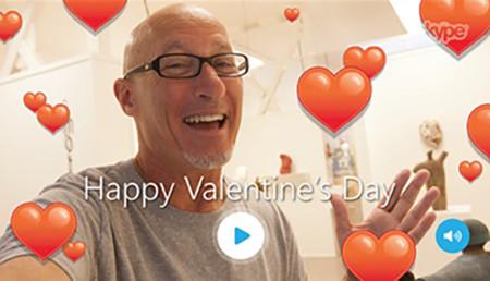 Skype San Valentin 2