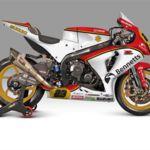 Decoración especial Barry Sheene para Suzuki en el 40 aniversario de su título de 500cc