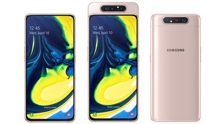 Galaxy A80 llega oficialmente a México: precio y disponibilidad del smartphone de Samsung con cámara giratoria de 48 megapixeles