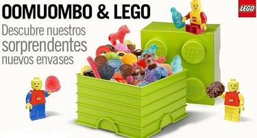 Oomuombo & Lego: chuches funcionales en envases de Lego