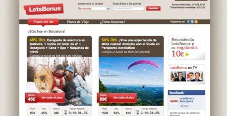 LivingSocial entra en el mercado español con la compra de LetsBonus