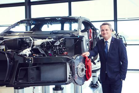 Director de Bugatti Molsheim Christophe Piochon