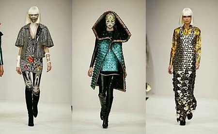 Manish Arora en la Semana de Londres Otoño-Invierno 2007-2008