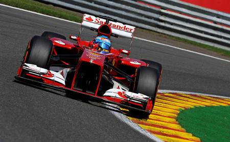 Fernando Alonso saldrá desde la novena posición tras la lluvia y un error