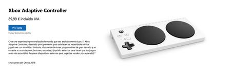 Reserva Xbox Adaptative Controller