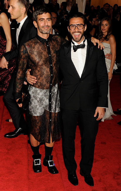 Marc Jacobs and Lorenzo Martone  met 2012