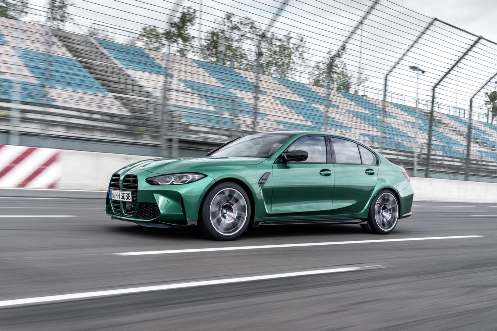Foto de BMW M3 Competition 2021 (37/40)