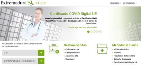 Extremadura Certificado