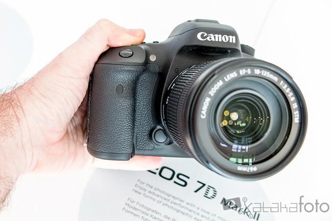 Canon EOS 7D Mark II, toma de contacto
