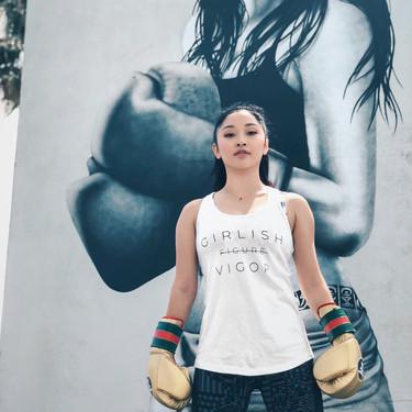 Lara Condor superó desórdenes alimenticios: el boxeo, Yoga y Pilates han sido parte imprescindible de su recuperación