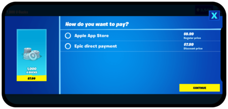 Epic Direct Pay Apple App Store 2045x979 730033169
