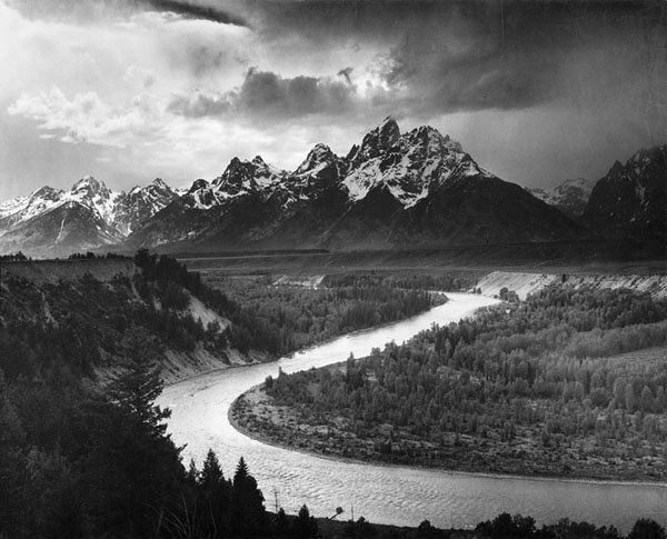 Snake River, Ansel Adams