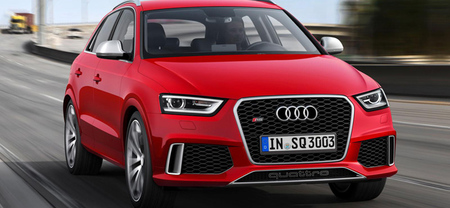 Audi RS Q3, ¿al descubierto?