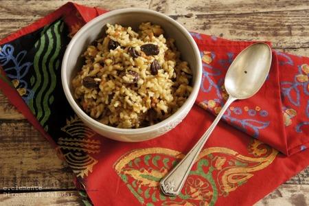 Receta de arroz al estilo marroquí