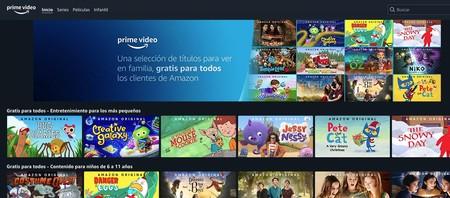 Amazon Prime Video ofrece series y películas infantiles gratis para todos para amenizar la cuarentena