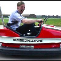 Montar un potente motor de 600cc en un inocente coche de choque lo ha convertido en el más feroz del mundo