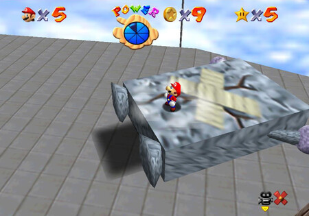 Super Mario 64 Mundo2 Estrella1 02
