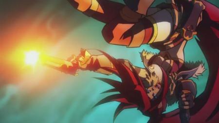 La apertura animada de Battle Chasers: Nightwar  lleva la firma del estudio Powerhouse y presenta un nuevo personaje