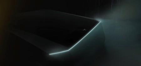 Tesla Pickup Truck Teaser